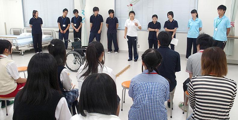 中央介護福祉専門学校 オープンキャンパス